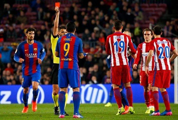 Barcelona apela la segunda amarilla de Suárez — Hará el intento