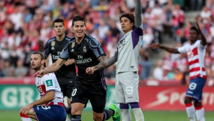 Real Madrid 4 1 Getafe Merengues Vencieron Con Goles De: Barcelona Y Madrid Golean Y Sigue El Empate En La Liga