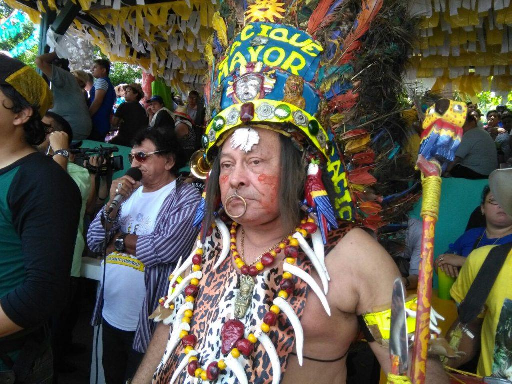 El Cacique Mayor vuelve a las fiestas de Santo Domingo de Guzmán