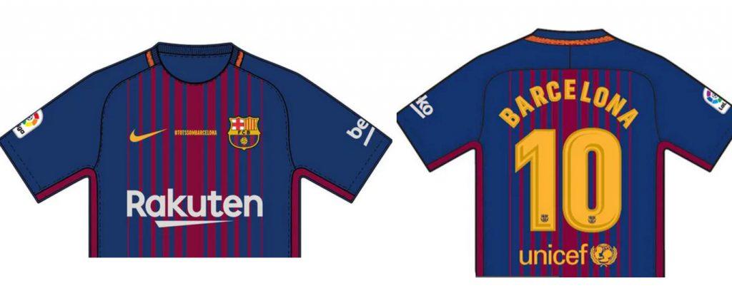 El Barcelona FC prepara un homenaje especial para las víctimas del atentado  de este jueves 1463a6b9360