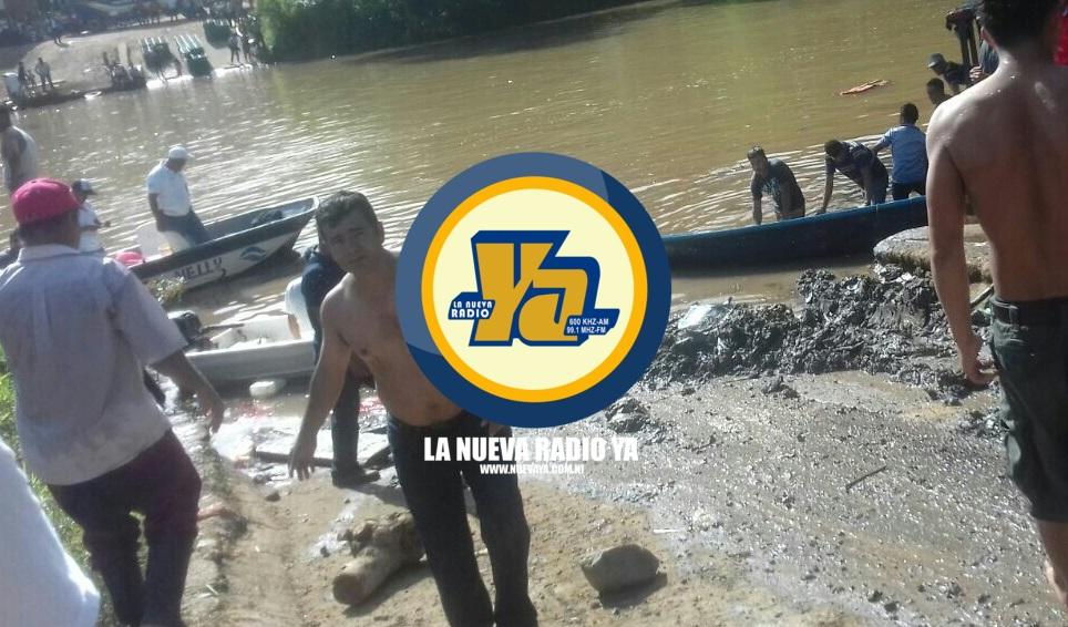 8 muertos al caer camión de pasajeros a un río en Nicaragua
