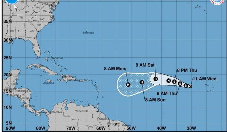 Tormenta Irma podría convertirse en huracán en su ruta por el Caribe