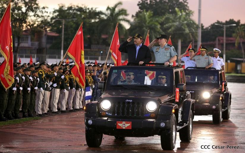 Военный парад в Никарагуа