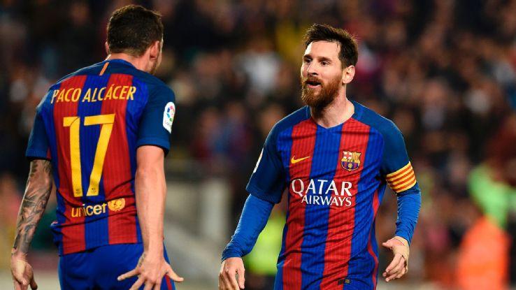 El Himno de la Champions, en las manos de Messi