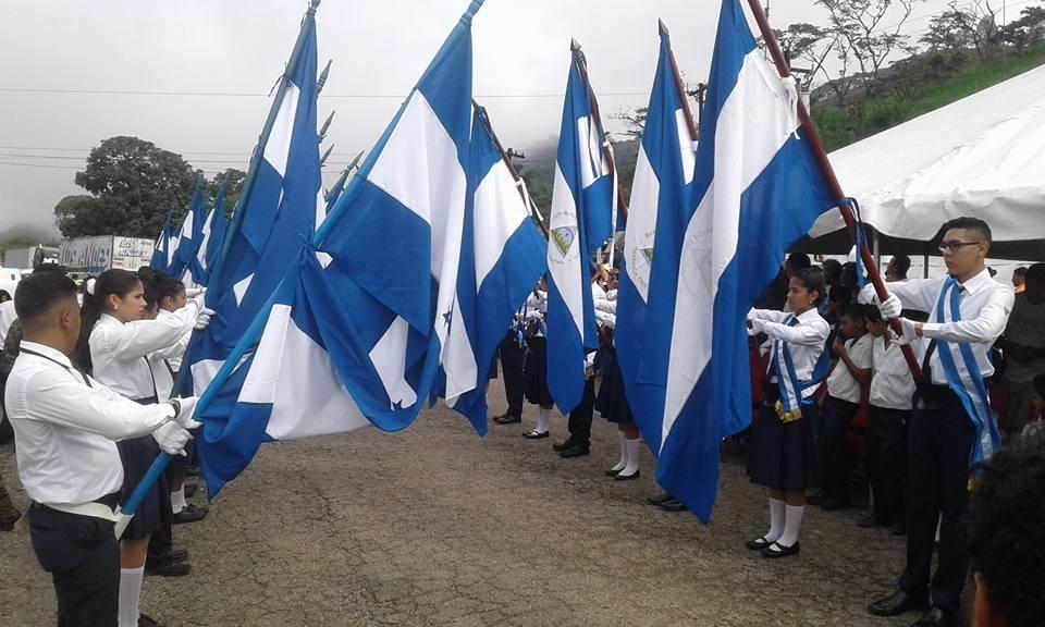 La antorcha centroamericana ya recorre Nicaragua