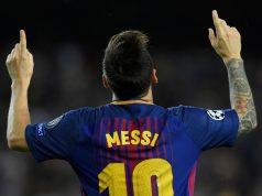 Lionel Messi del Barcelona FC