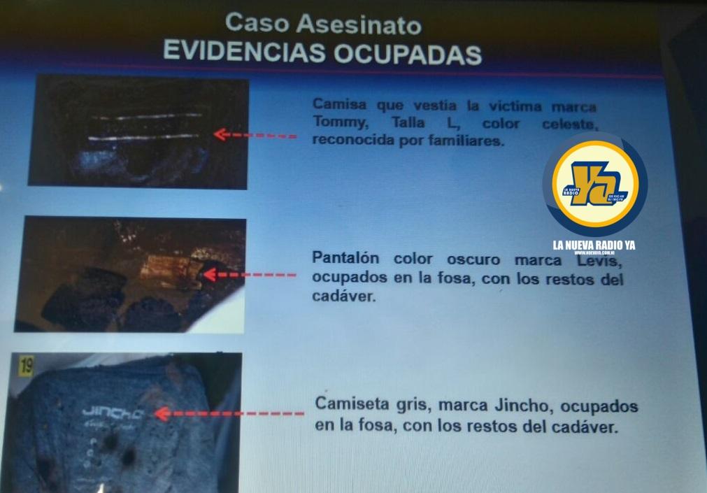 Evidencias en el caso del asesinato del comerciante Dervin Sobalvarro