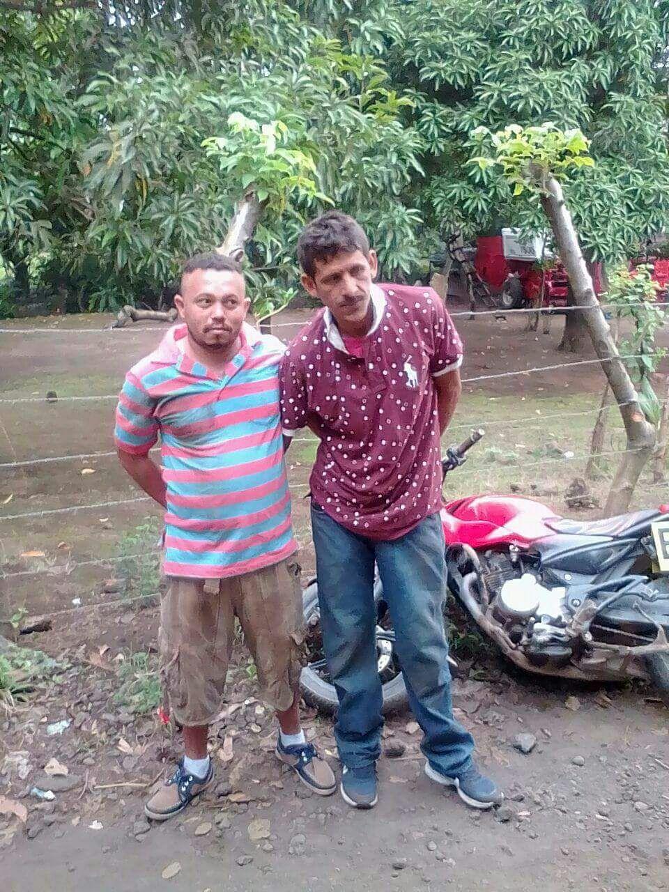 Holmam Rivera Medina y Erick Fidel Castillo