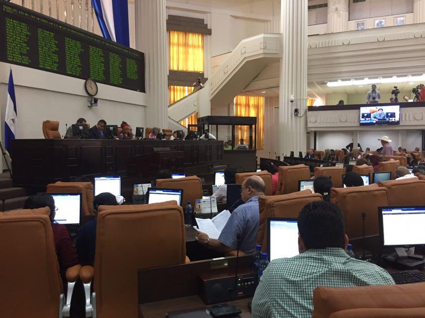 Asamblea Nacional aprueba primera reforma al Presupuesto General de la República 2017