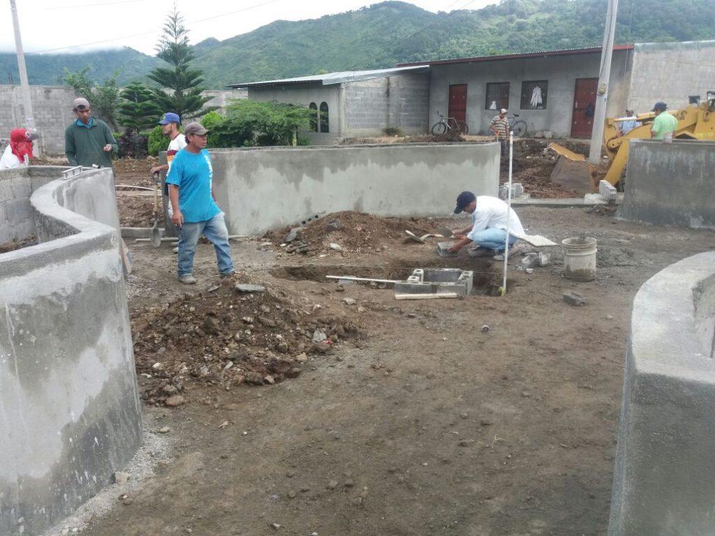 Construcción Parque Ferias en Jinotega
