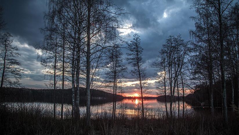 El lago Sakantsi desapareció por completo