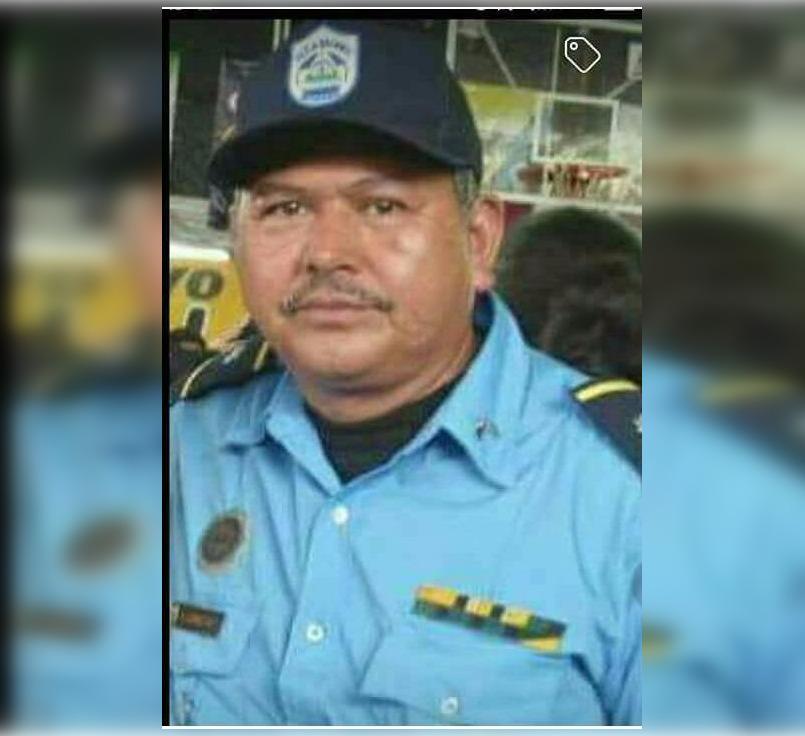 falleció el Sub Comisionado de la Policía Nacional Rafael Antonio Gómez,