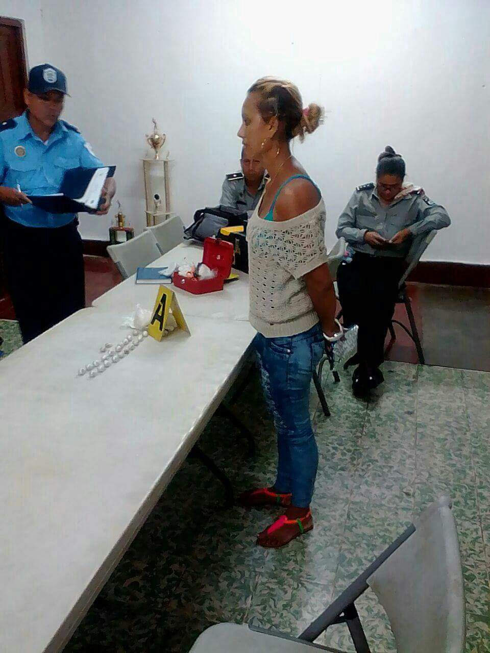 Hazel Junieth Quiroz Rocha fue arrestada