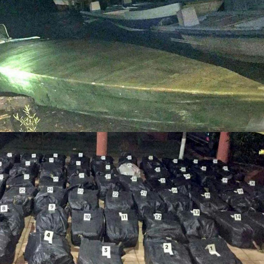 Un narco-sumergible fue capturado en Costa Rica con una tonelada de cocaína