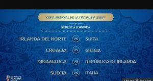 Italia-Suecia, la llave más pareja en el repechaje de Europa rumbo a la Copa del Mundo