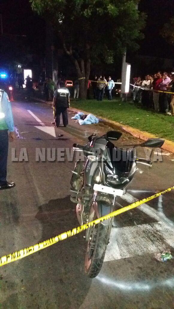 Luis Guerrero Barquero fallecido en la rotonda Jean Paul Genie