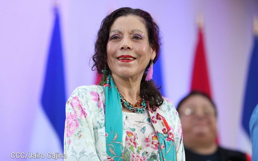 Rosario Murillo, vicepresidente de Nicaragua