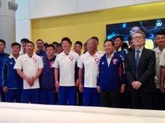 Selección de Taiwán llega a Nicaragua