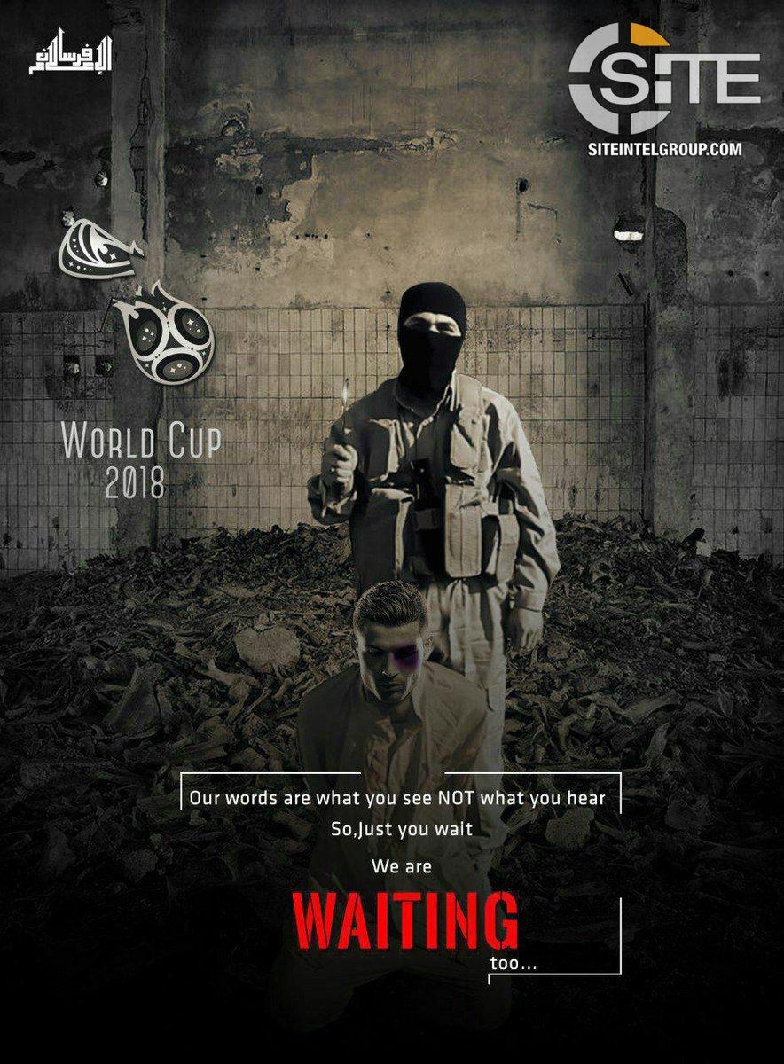 Estado Islámico amenaza la seguridad de la Copa Mundial con imagen de Ronaldo