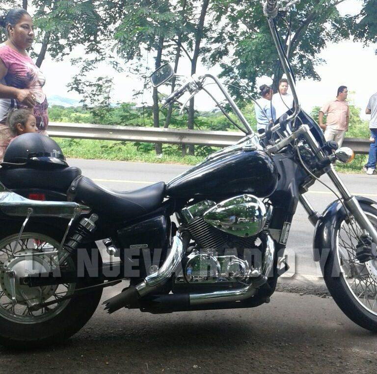La moto del extranjero