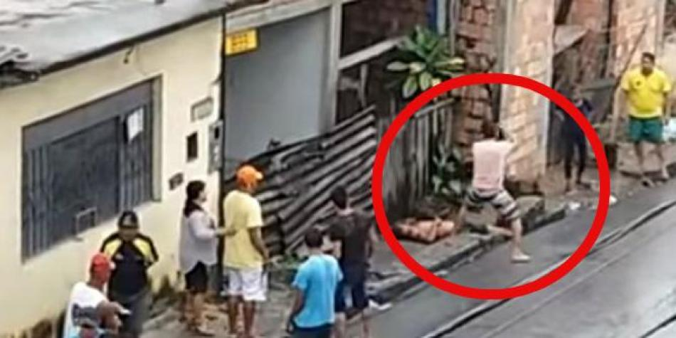 Joven mata a su padrastro en brasil