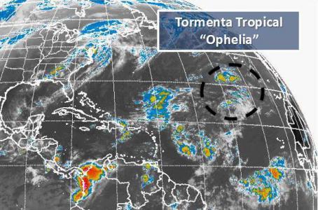 Ofelia se convierte en huracán