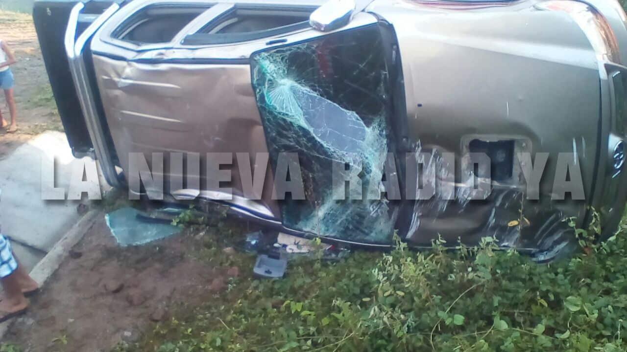 El accidente ocurrió en el kilómetro 116 de la carretera Malpaisillo-Villa 15 de julio