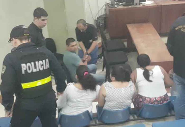 4 nicas condenados a 23 años de cárcel en Costa Rica