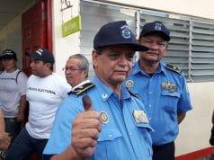 El Sub Director de la Policía Nacional Comisionado General, Francisco Díaz Madriz