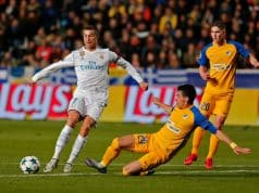 Cristiano Ronaldo marcó 2 anotaciones