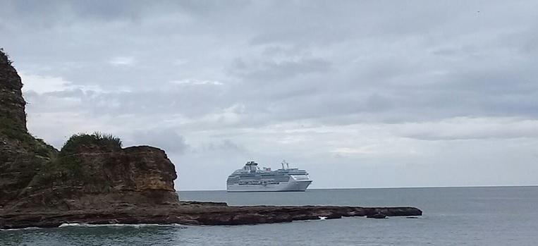 Crucero Coral Princess arriba a San Juan del Sur