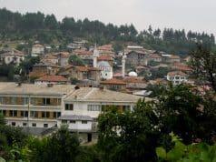 La ciudad de Dryanovo en Bulgaria