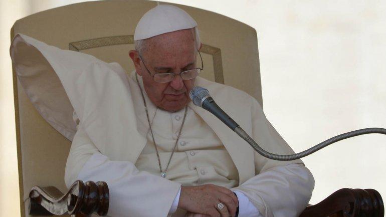 El Papa Francisco confiesa que a veces se queda dormido al rezar