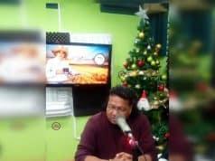 El Rey del Chinamo presentando su Nuevo Material Musical Llamado La Cumbia del Bario