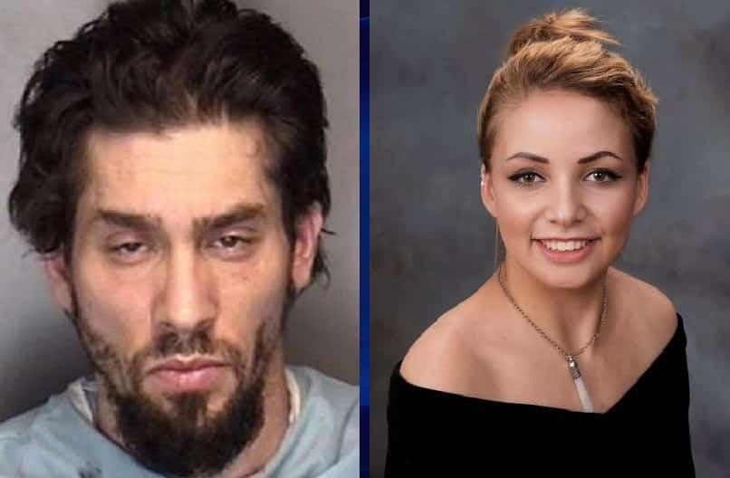 Tara Serino y su asesino Christopher Ryan Tucker