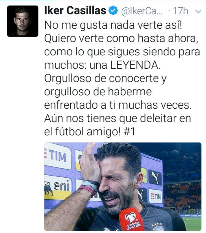 El emotivo mensaje de Iker Casillas