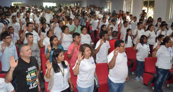 Juramentan a los miembros del observatorio electoral universitario