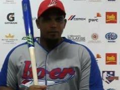 El cubano Lerys Aguilera del Bóer conectó el primer jonrón en el Estadio Nacional
