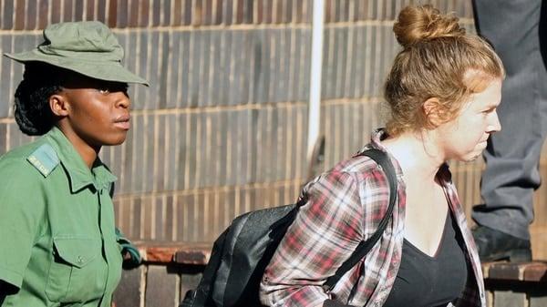 La periodista Martha O'Donovan fue arrestada en Zimbabwe