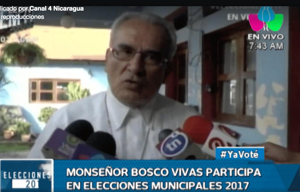 Monseñor Bosco Vivas Robelo