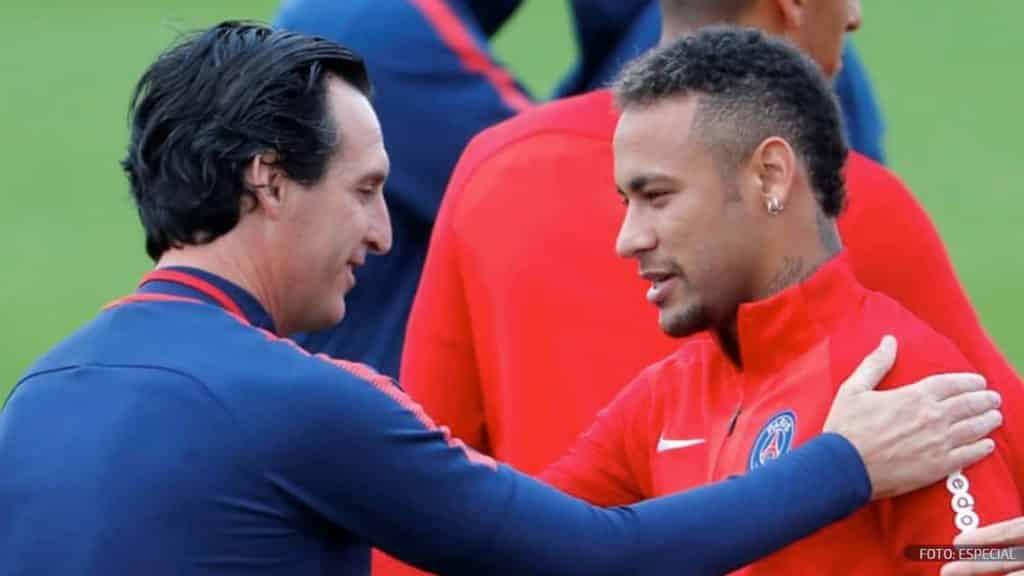 Relación entre Neymar y Unai Emery eleva la tensión en el PSG