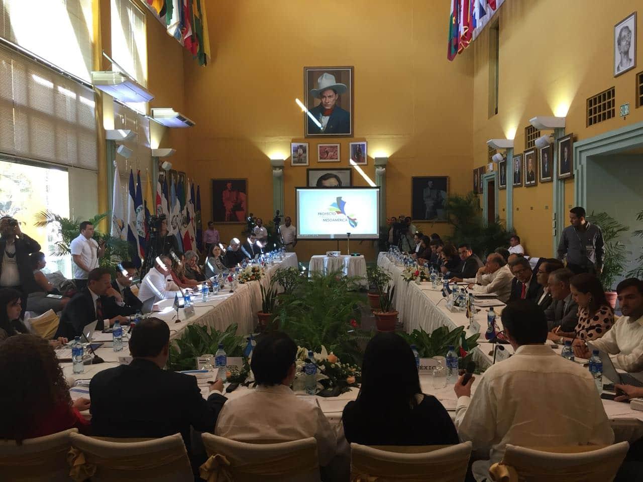 Managua es sede de la Comisión Ejecutiva de Mesoamérica