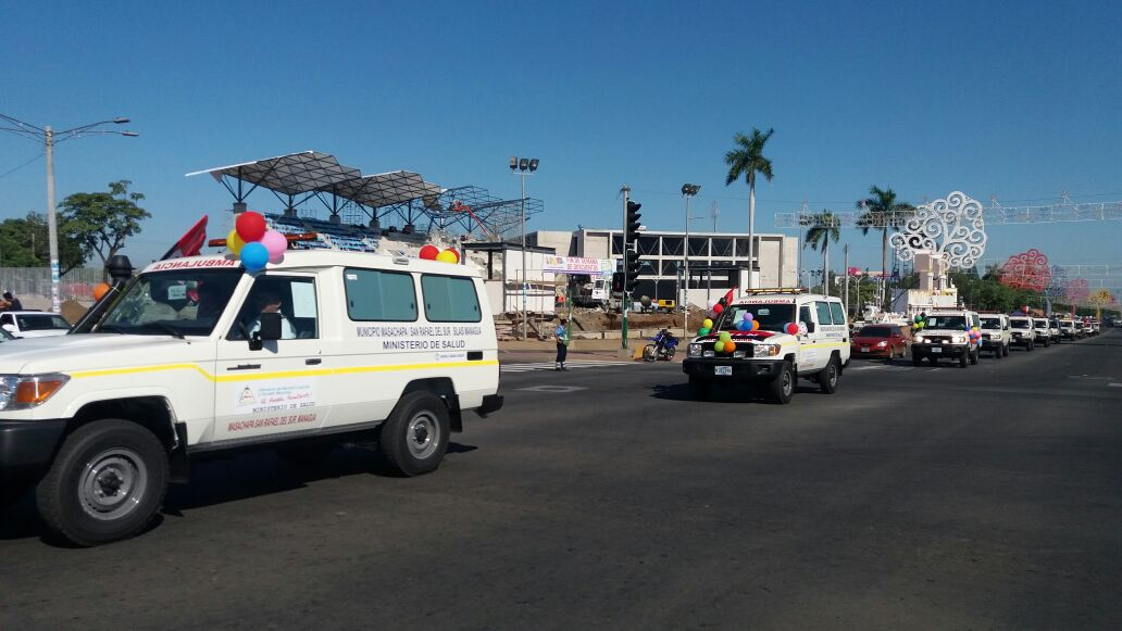 48 ambulancias serán entregada en igual número de municipios en Nicaragua