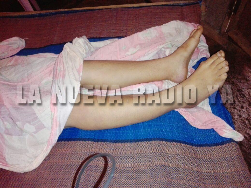 Rosa Elena dio a luz un hermoso bebe hace 22 días