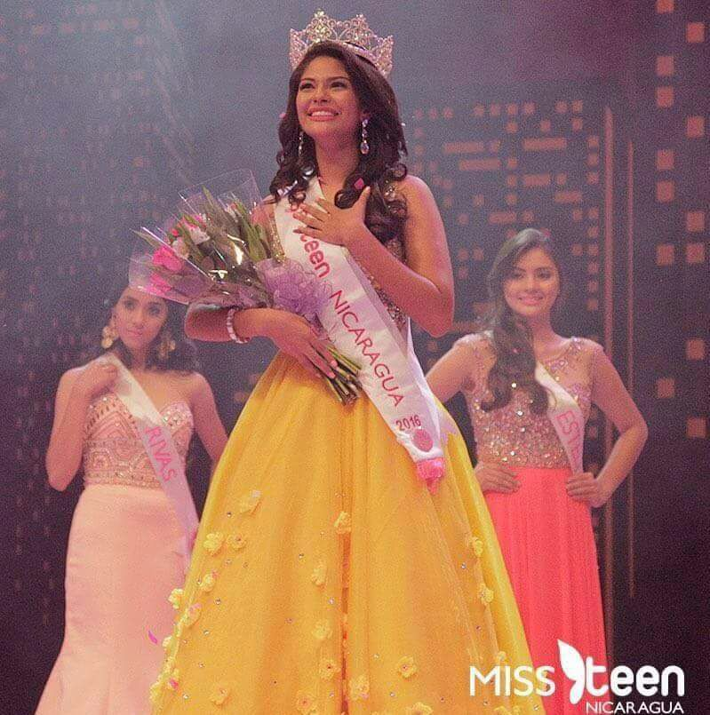 Sheynnis Alondra Palacios, Miss Teen Nicaragua 2016