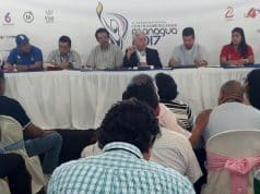 Conferencia sobre detalles de los XI Juegos Deportivos Centroamericanos Managua 2017