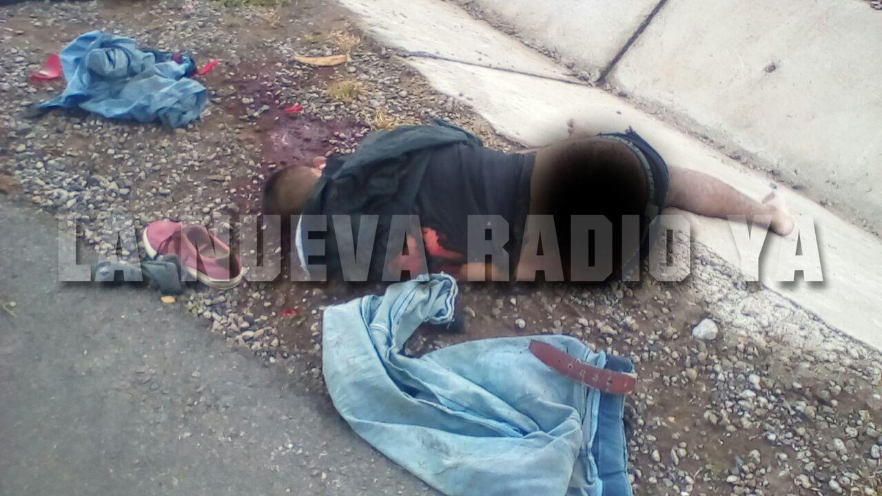 Los jóvenes fueron encontrados esta madrugada tirados en la calle