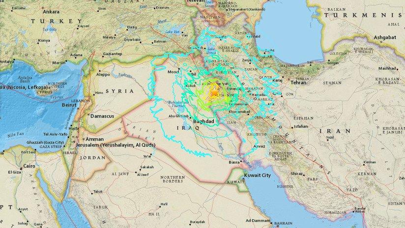 Registran sismo de 7.3 grados en Irak