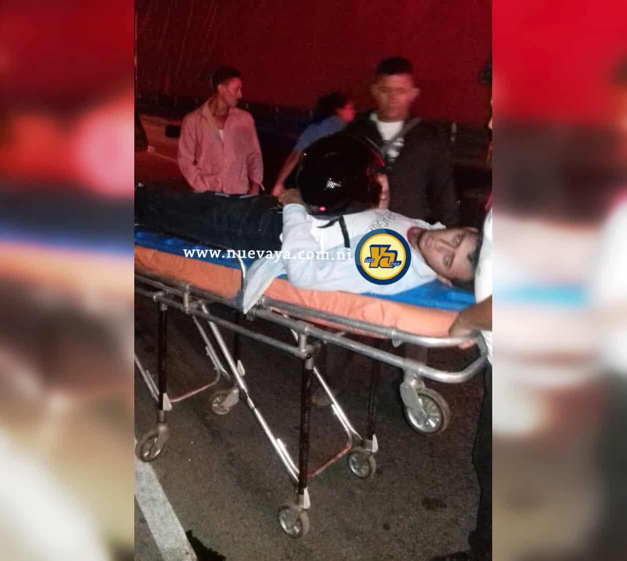 Motociclista resulta gravemente lesionado tras ser atropellado por un  camión en Sébaco 91c9b00fe07ff
