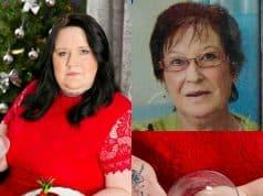 Debra Parson asegura que comiéndose poco a poco a su mamá siente estar más cerca de ella